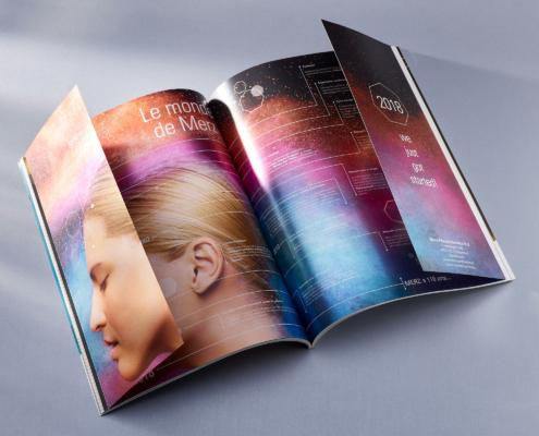 Brochure met luiken en coldfoil