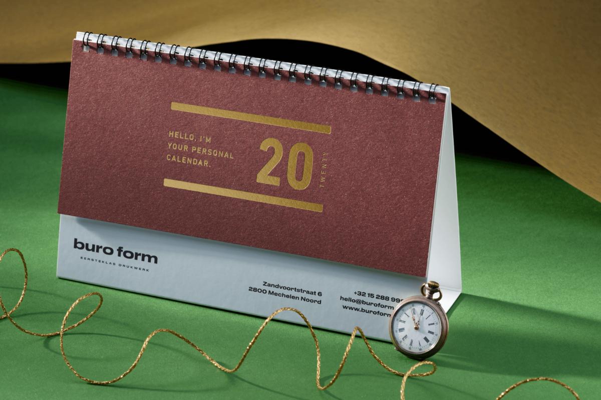 Gepersonaliseerde kalender: het ultieme relatiegeschenk voor 2021?